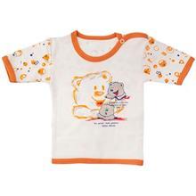 تي شرت آستين کوتاه نوزادي ندا و ساراگل مدل 1014