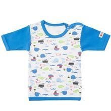 تي شرت آستين کوتاه نوزادي ندا و ساراگل مدل 1032