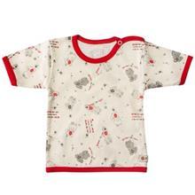 تي شرت آستين کوتاه نوزادي ندا و ساراگل مدل 3040