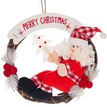 آويز عروسکي پشت دري مدل بابانوئل