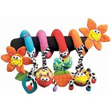 Playgro Amazing Garden Twirly Whirly Activity Spiral
