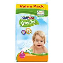 پوشک بيبي لينو سايز 5 مدل Value Pack بسته 44 عددي