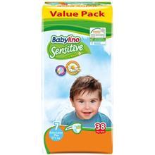 پوشک بيبي لينو سايز 7 مدل Value Pack بسته 38 عددي