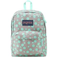 Jansport Grey Rabbit Sylvia Dot Spring Break Series Backpack