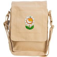 Milan Smiling Flower Design Shoulder Bag