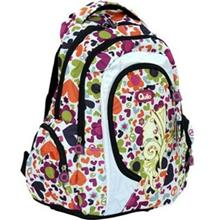 Quilo Flower and Heart Backpack