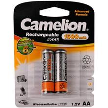 Camelion ACCU 1500mAh Rechargeable AA Battery Pack Of 2