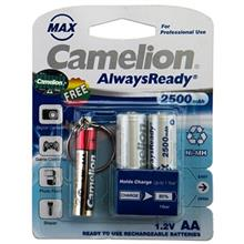 Camelion Always Ready Max 2500mAh Rechargeable AA Battery With Torch