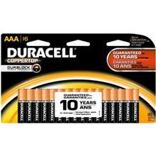 Duracell Coppertop Duralock Alkaline AAA Battery Pack Of 16