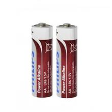 Philips Power Alkaline AA Battery Pack Of 2