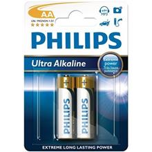 Philips Ultra Alkaline AA Battery Pack Of 2