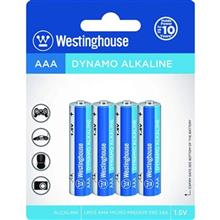 Westinghouse Dynamo Alkaline AAA Battery Pack of Four