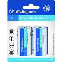 Westinghouse Dynamo Alkaline C Battery Pack of 2