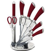 ست چاقوی آشپزخانه 8 پارچه پایه دار برلینگر هاوس مدل BH-20