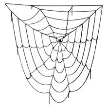 Black Window Giant Spider Web Toys Spider Web