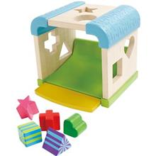 Blue Box Sorting Cube Educational Game