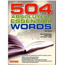 کتاب زبان 504 Absolutely Essential Words