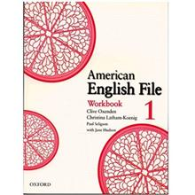 کتاب زبان American English File 1 Workbook