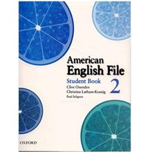 کتاب زبان American English File 2 Student Book