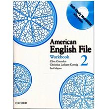 کتاب زبان American English File 2 Workbook