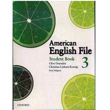 کتاب زبان American English File 3 Student Book