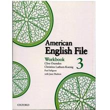 کتاب زبان American English File 3 Work Book