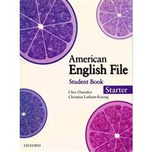 کتاب زبان American English File Starter Student Book