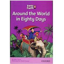 کتاب زبان Around The World In Eighty Days - Family And Friends 5