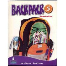 کتاب زبان  Backpack 5 - Student Book + Work Book