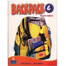 کتاب  زبان Backpack 6 - Student Book + Work Book