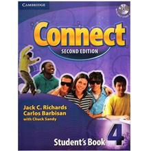 کتاب زبان Connect 4 Students Book Second Edition