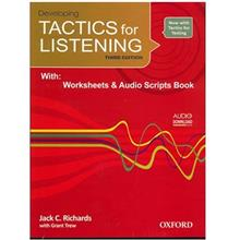 کتاب زبان Developing Tactics For Listening Third Edition