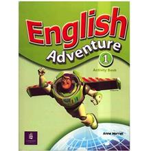 کتاب زبان English Adventure 1 - Activity Book
