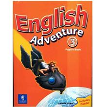 کتاب زبان English Adventure 3 - Pupils Book