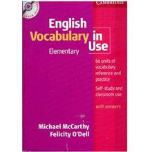 کتاب زبان English Vocabulary In Use Elementary