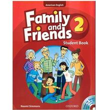 کتاب زبان Family And Friends 2 - Student Book