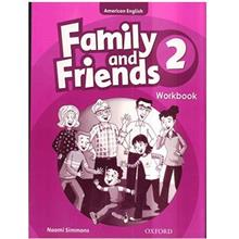 کتاب زبان Family And Friends 2 - Workbook