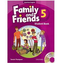 کتاب زبان Family And Friends 5 - Student Book + Workbook