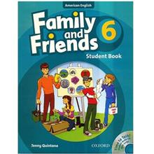 کتاب زبان Family And Friends 6 - Student Book + Workbook