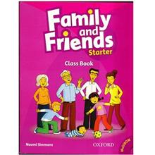 کتاب زبان Family And Friends Starter - Class Book