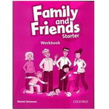 کتاب زبان Family And Friends Starter - Workbook