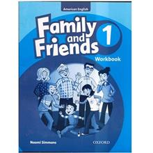 کتاب زبان Family And Friends 1 - Workbook