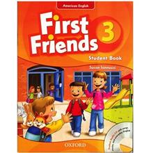 کتاب زبان First Friends 3 - Student Book+Activity Book