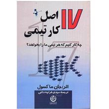 کتاب 17 اصل کار تيمي (چه کار کنيم که هر تيمي ما را بخواهد)