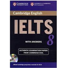 کتاب زبان Cambridge IELTS 8