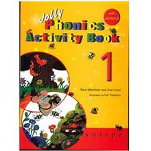 کتاب زبان Jolly Phonics Activity Book 1
