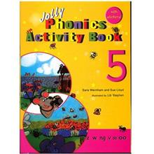 کتاب زبان Jolly Phonics Activity Book 5
