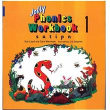 کتاب زبان Jolly Phonics Workbook 1