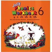 کتاب زبان Jolly Phonics Workbook 6