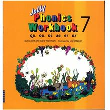 کتاب زبان Jolly Phonics Workbook 7